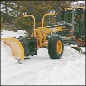 Snow Plow Safety Videos Motor Grader Snow Plow Vista