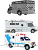 Fire/Rescue / Emergency / Mobile Units Checklist 6 Month 8-1/2 X 11 Full Size