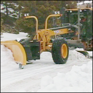 Snow Plow Safety Videos Motor Grader Snow Plow Vista