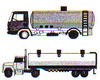 Tanker Truck/Trailer Vehicles Checklist 6 Month 8-1/2 X 11 Full Size