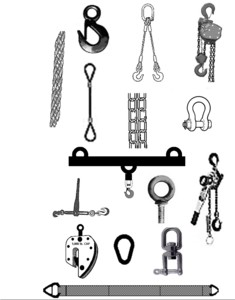 Rigging / Slinging Combo Equipment & Accessories Checklist 6 Month 8-1/2 X 11 Full Size