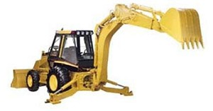 Set of 3 Backhoe loader training videos